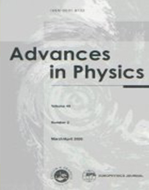 Advances in Physics