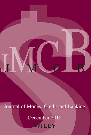 Journal of Money, Credit & Banking